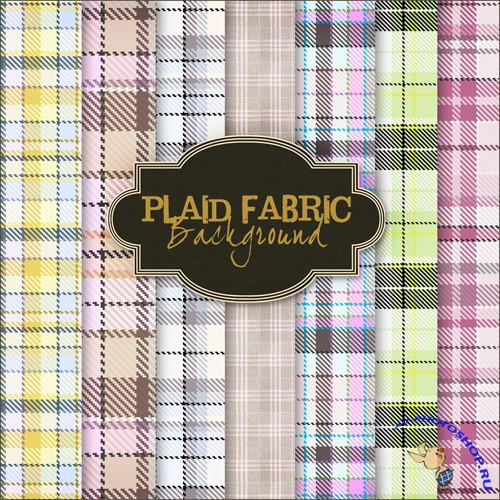 Plaid Fabric Backgrounds