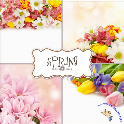 Textures - Spring Backgrounds #7
