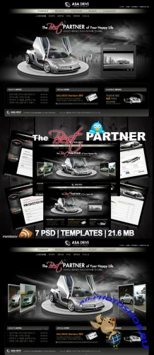The Best Partner Templates PSD Nr.165