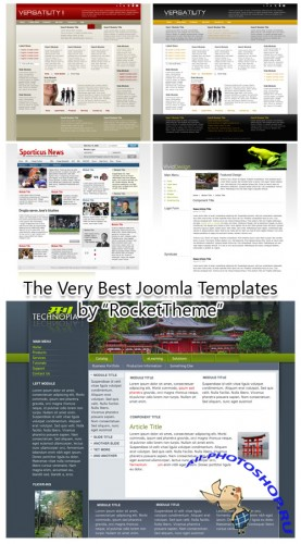 40 Very Best Joomla Templates by RocketTheme