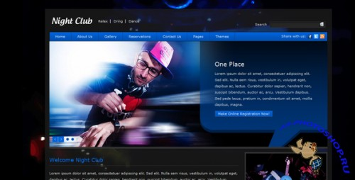 ThemeForest - Club Night (All Colours) - Rip