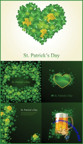 St. Patrick's Day Background - Stock Vectors