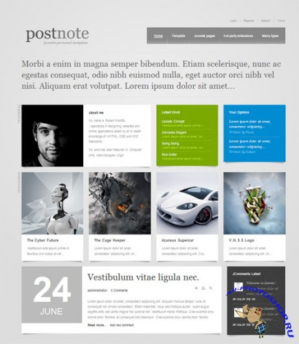 GK Postnote v2.0.13 for Joomla 1.5 and v1.1 for Joomla 1.6