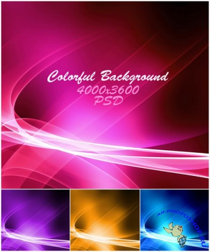 Background Colorful PSD