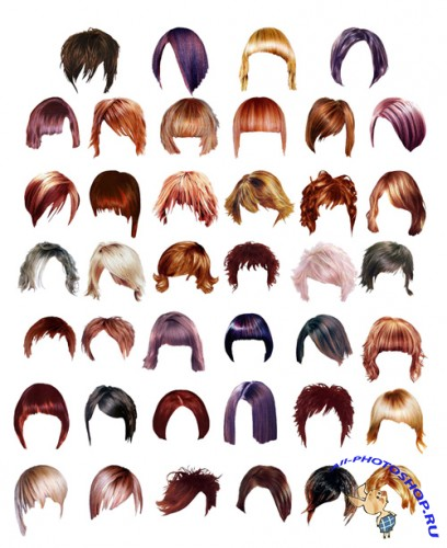 Hairstyles PSD