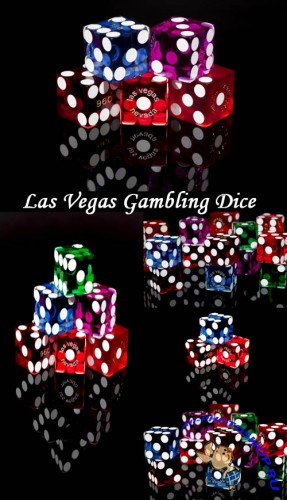 Las Vegas Gambling Dice - Stock Photos