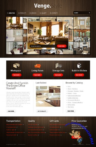 Venge Style Free Website Template