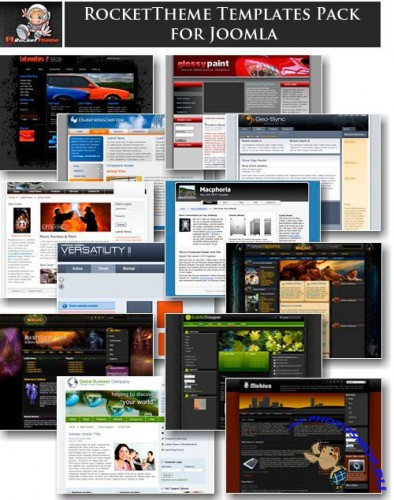 Rocket Theme Templates Pack for Joomla