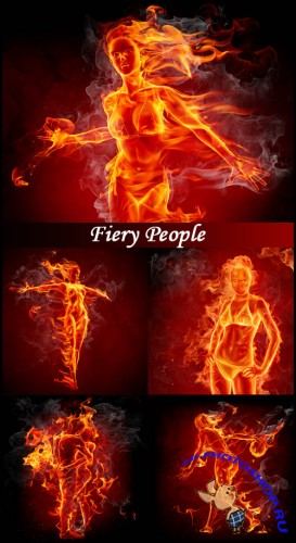 Fiery People - Stock Photos