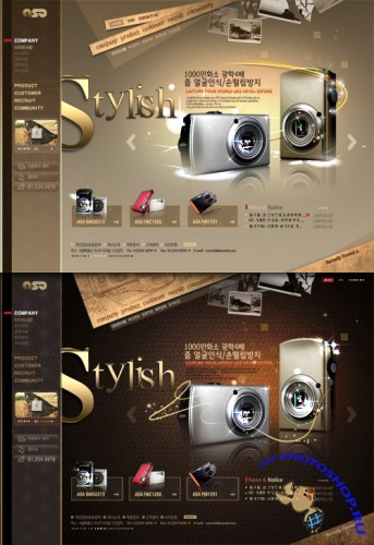 Stylish Templates PSD Nr.179