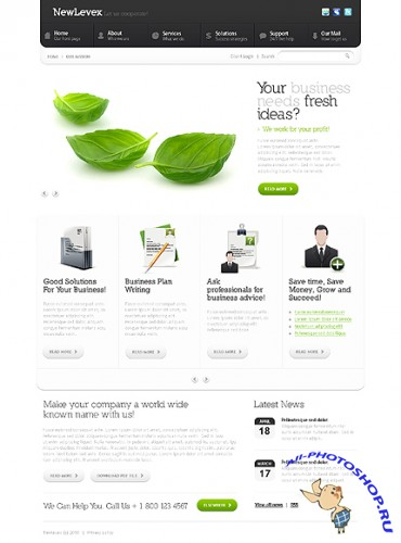 City Business Free Website Template