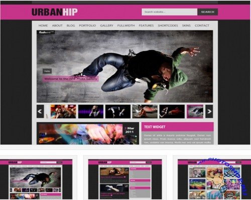 urbanhip Free Wordpress Theme