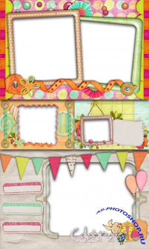 PNG Frames - Celebrate - Birthday