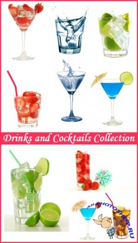 Drinks and Cocktails Collection - Stock Photos