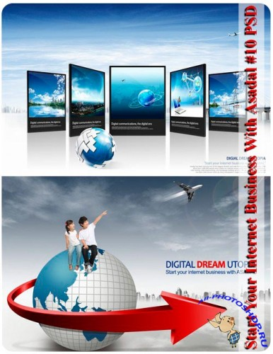 Start Your Internet Business With Asadal #10 PSD