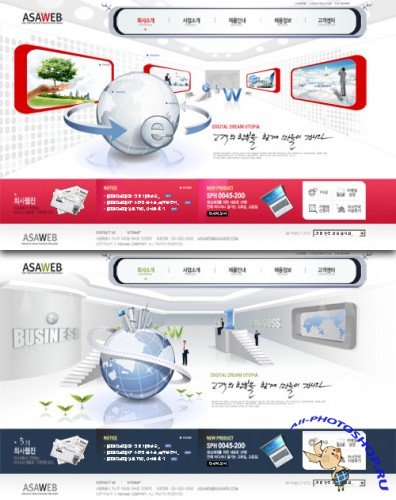 Web Template RED-004
