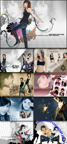 Beautiful photo album templates Temptation