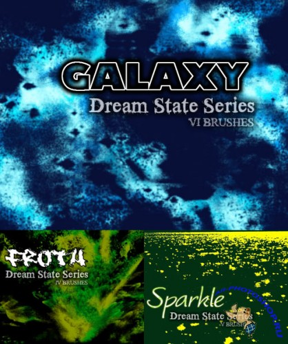 Dream State Series Brushes Pack