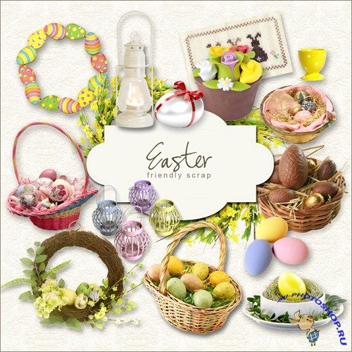 Scrap-kit - Easter Set #5