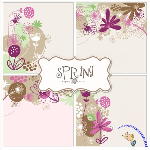 Textures - Spring Backgrounds #9