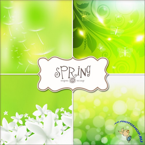 Textures - Spring Backgrounds #11