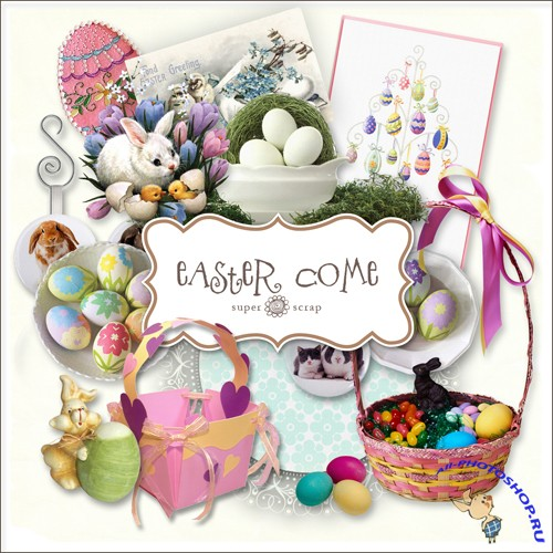 Scrap-kit - Easter Come