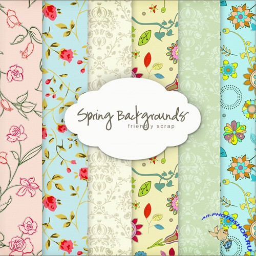 Textures - Spring Backgrounds #12