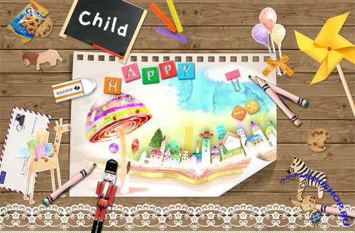 Bookmark Desktop - lovely children's world
