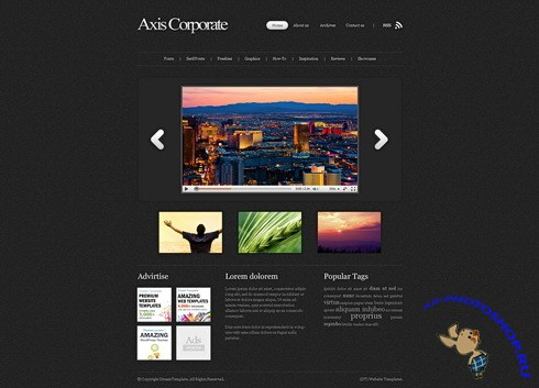 Dynamic CSS Templates - Axis