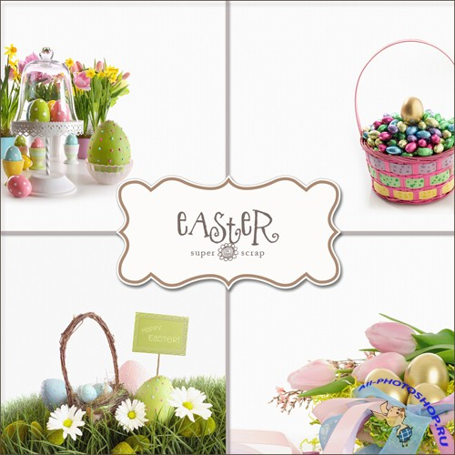 Textures - Easter Backgrounds #8