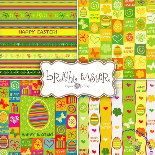 Textures - Bright Easter