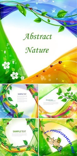 Stock vector - Abstract Nature | ������� ��������� ���