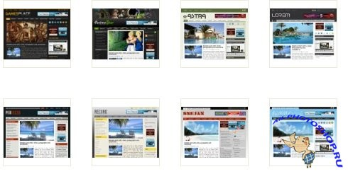 8 Free WordPress Theme