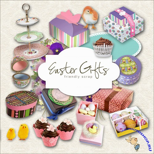 Scrap-kit - Easter Gifts