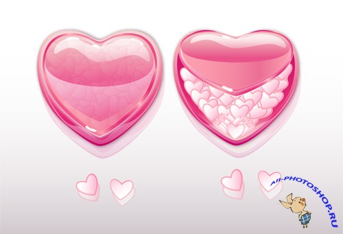 Beautiful Heart Vector
