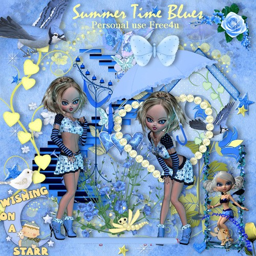 Scrap-set - Summer Time Blues