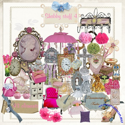 Scrap-kit - Shabby Stuff