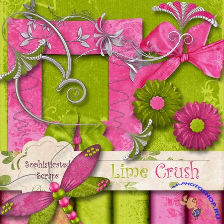 Scrap kit - Lime Crush