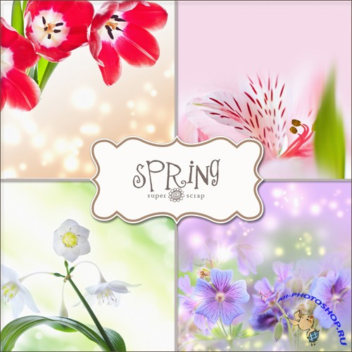 Textures - Spring Backgrounds #16