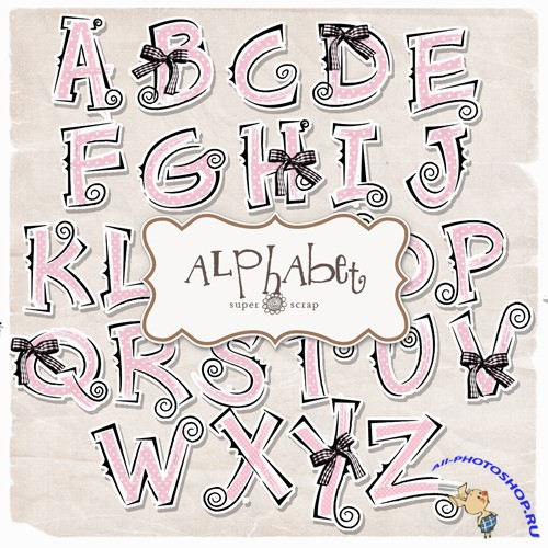 Scrap-kit - Holidays Baby Alphabet