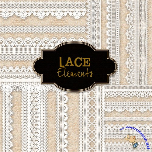 Scrap-kit - Lace Set #2