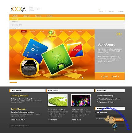 Zoocm Website Template