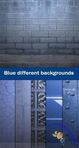 Blue different backgrounds