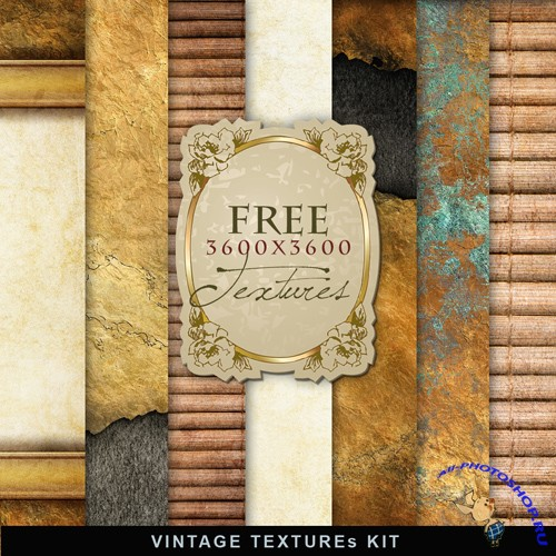 Textures - Old Vintage Backgrounds #31