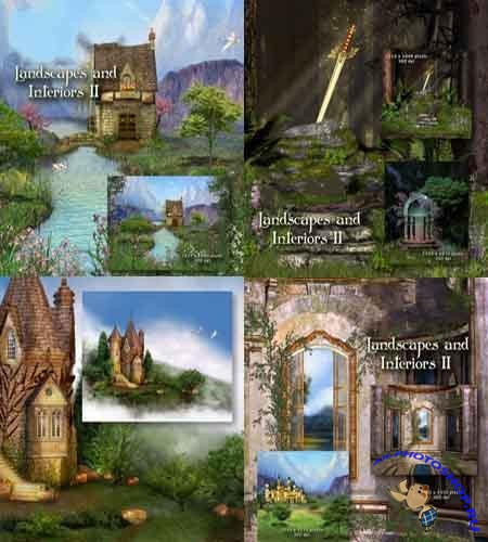 Various fairy backgrounds 2 (��������� ��������� ����)