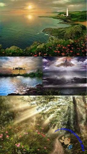 Various fairy backgrounds 3 (��������� ��������� ����)
