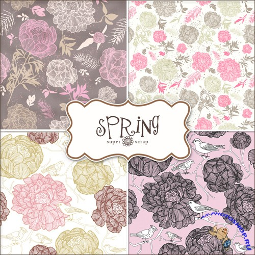 Textures - Spring Backgrounds #19