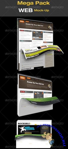 Layouts for Web Page Design - GraphicRiver