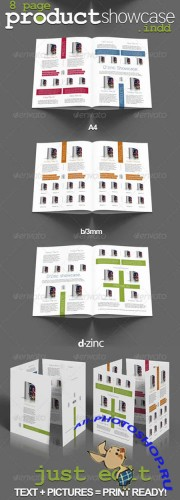 Premium Products Showcase v1 - InDesign A4