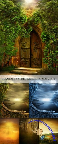 Fantasy Nature Backgrounds Vol.1
